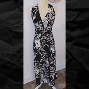 Evan Picone Marilyn halter dress - EUC
